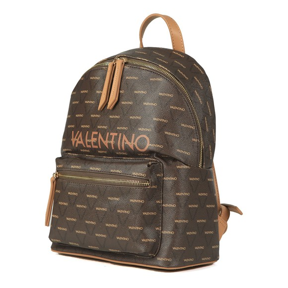 Valentino by Mario Womens Brown Liuto Backpack