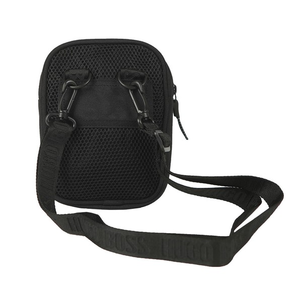 BOSS Boys Black J20263 Mesh Small Bag