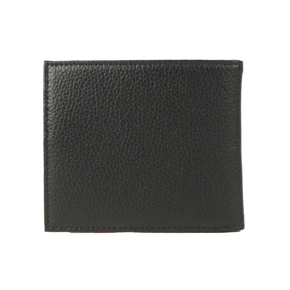 Emporio Armani Mens Black Logo Leather Wallet