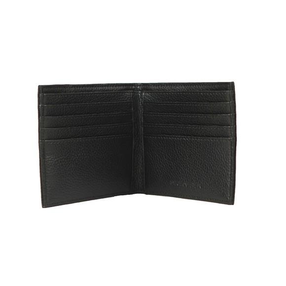 Emporio Armani Mens Black Logo Leather Wallet main image