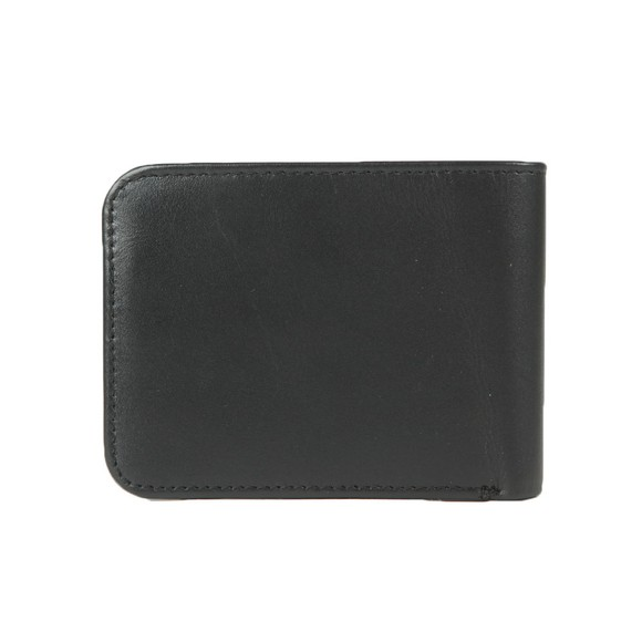 Fred Perry Mens Black Leather Billfold Wallet