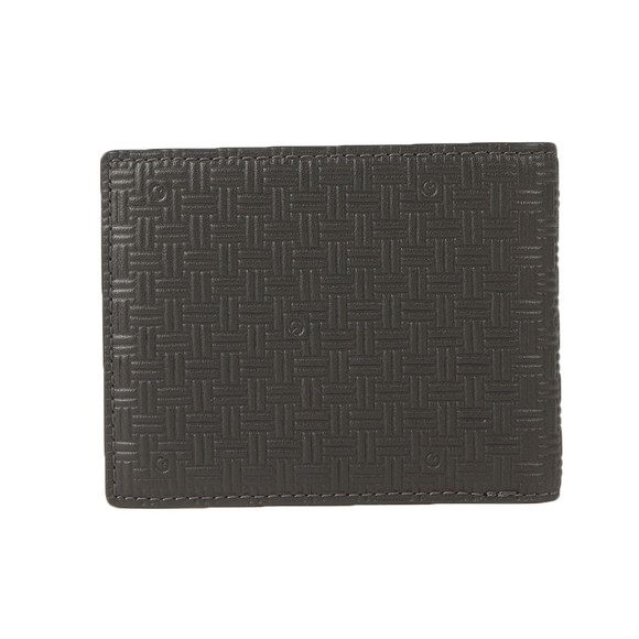 Gant Mens Brown Signature Weave Wallet