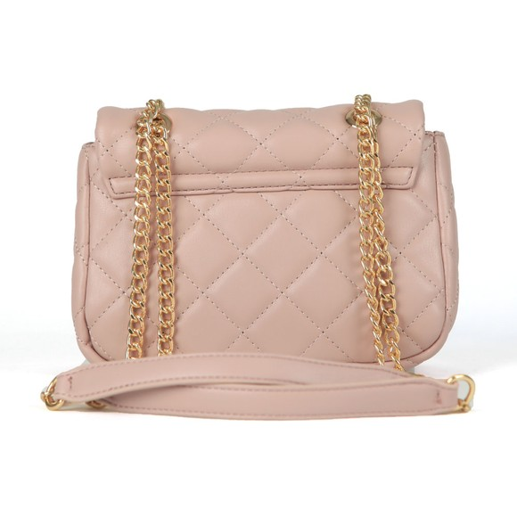 Valentino by Mario Womens Pink Ocarina Small Satchel