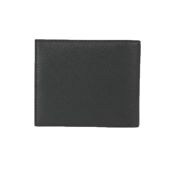 Emporio Armani Mens Black Logo Leather Wallet