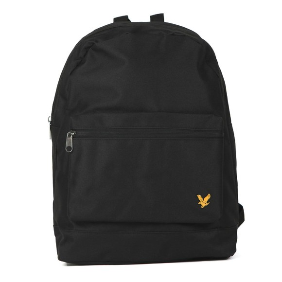 Lyle and Scott Mens Black Backpack