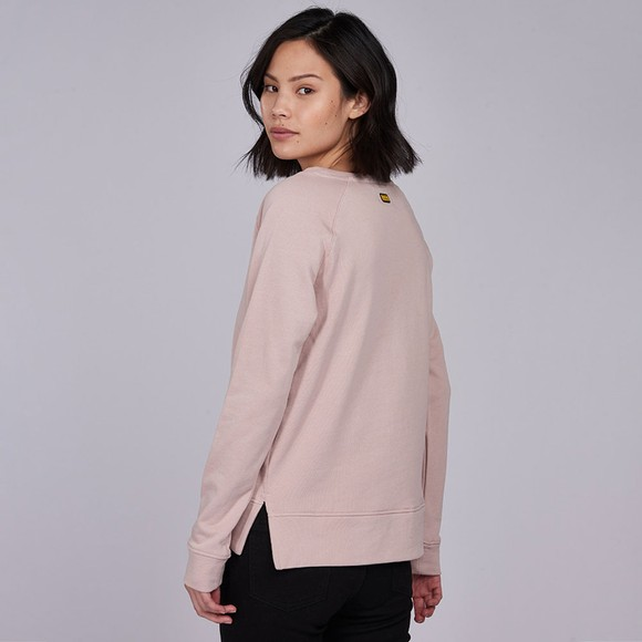 Barbour International Womens Pink Reserve Sweatshirt