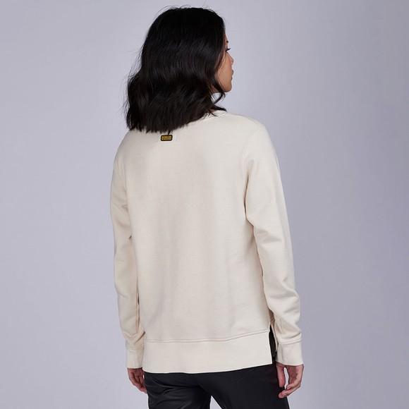 Barbour International Womens Off-White Cadwell Sweatshirt main image