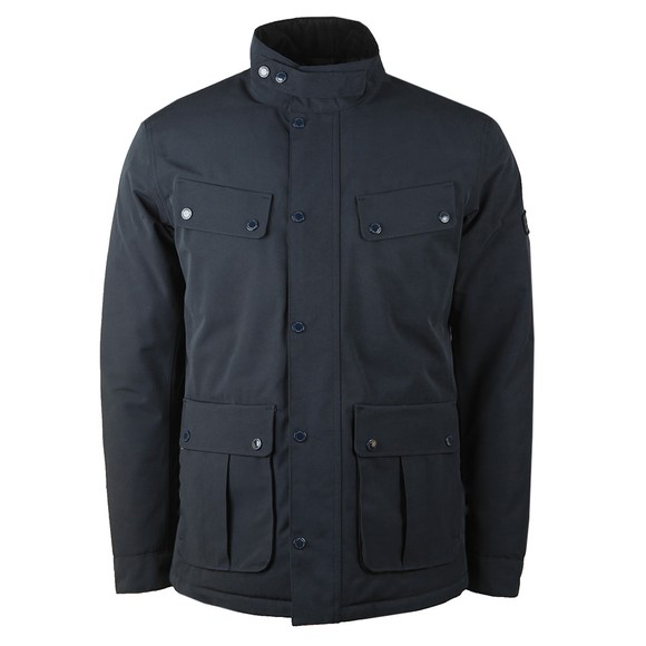 Barbour International Mens Blue Waterproof Jacket