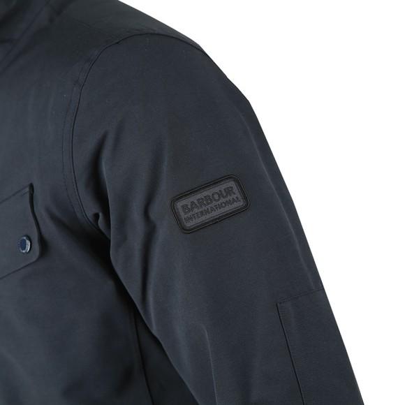 Barbour International Mens Blue Waterproof Jacket main image