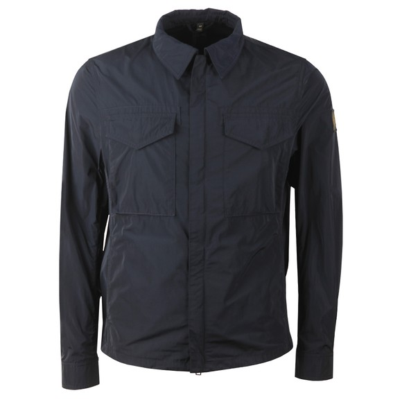 Belstaff Mens Blue Command Overshirt