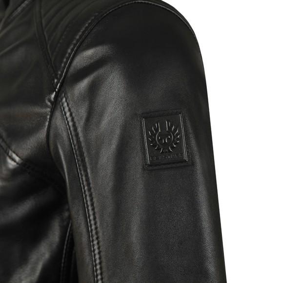 Belstaff Mens Black V  Racer Leather Blouson main image