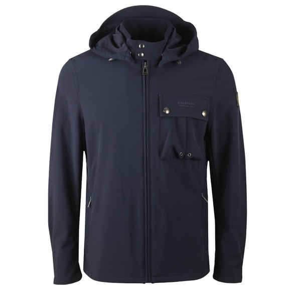 Belstaff Mens Blue Wing Shell Jacket