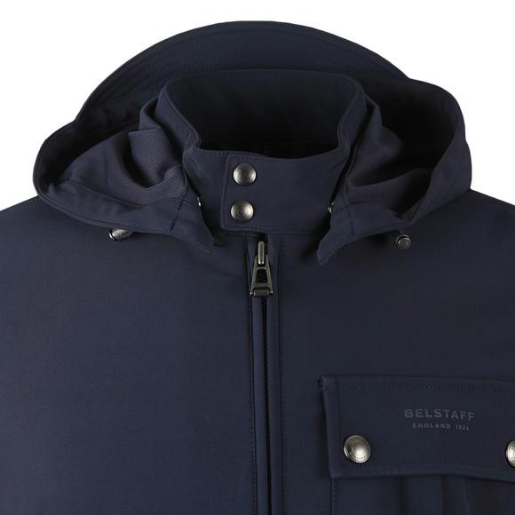 Belstaff Mens Blue Wing Shell Jacket