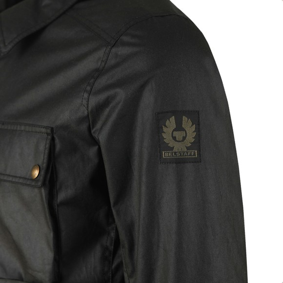Belstaff Mens Black Dunstall Wax Overshirt main image