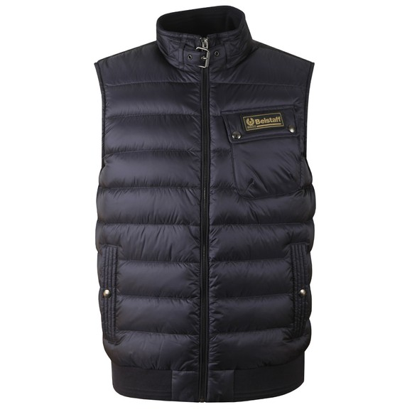 Belstaff Mens Blue Streamline Gilet