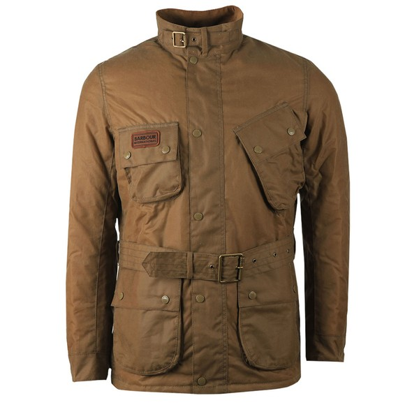 Barbour International Mens Beige SI International Jacket