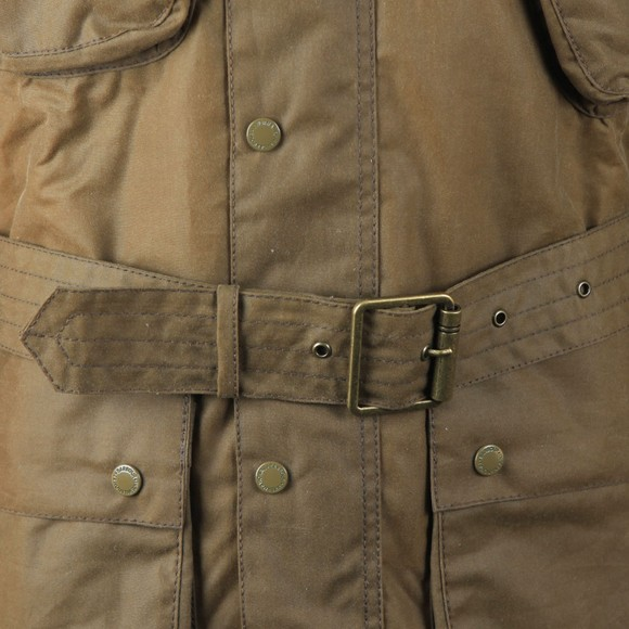 Barbour International Mens Beige SI International Jacket main image