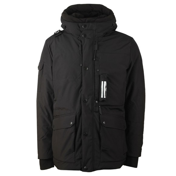 Ma.Strum Mens Black Down Torch Parka