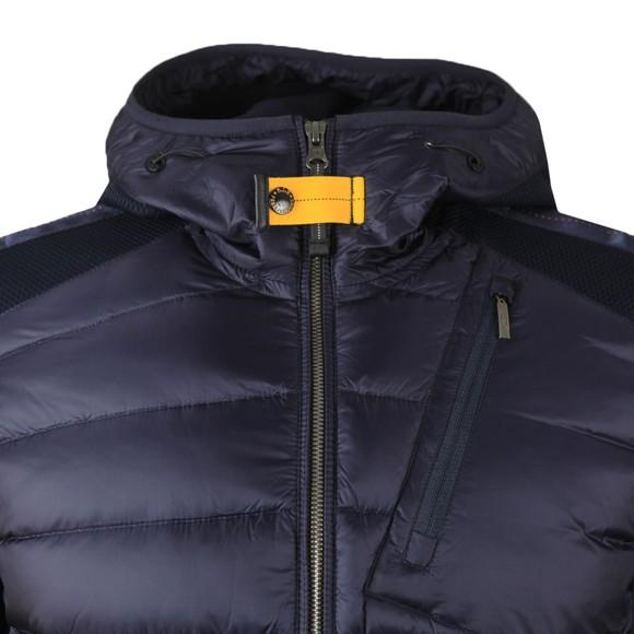 Parajumpers Mens Blue Nolan Hooded Jacket