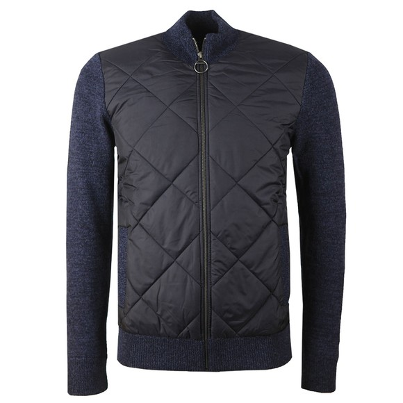 Barbour Lifestyle Mens Blue Magnus Full Zip