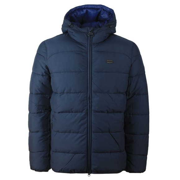 Barbour International Mens Blue Court Quilt Jacket