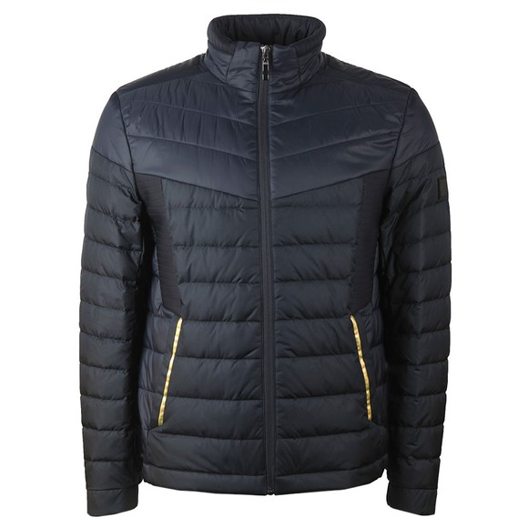 BOSS Mens Blue Athleisure J Vail Puffer