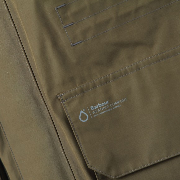Barbour Lifestyle Mens Green Pistone Jacket main image