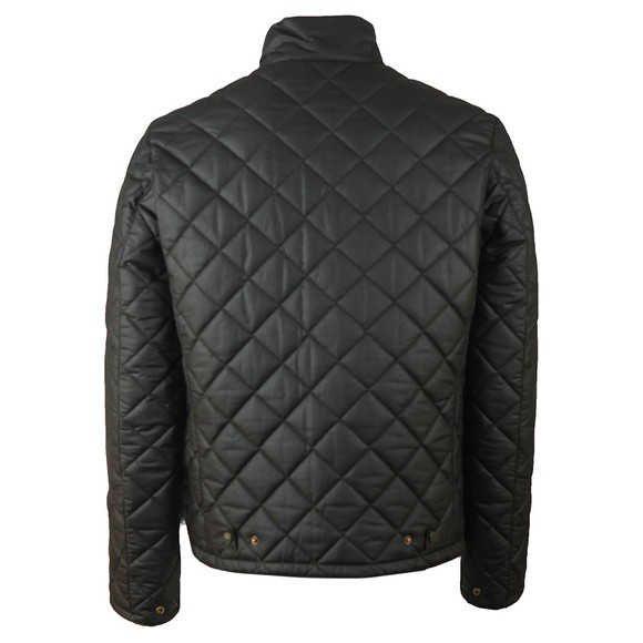 Barbour International Mens Green Peel Wax Jacket main image