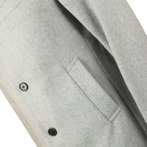 J.Lindeberg Mens Grey Wolger Compact Melton Coat main image
