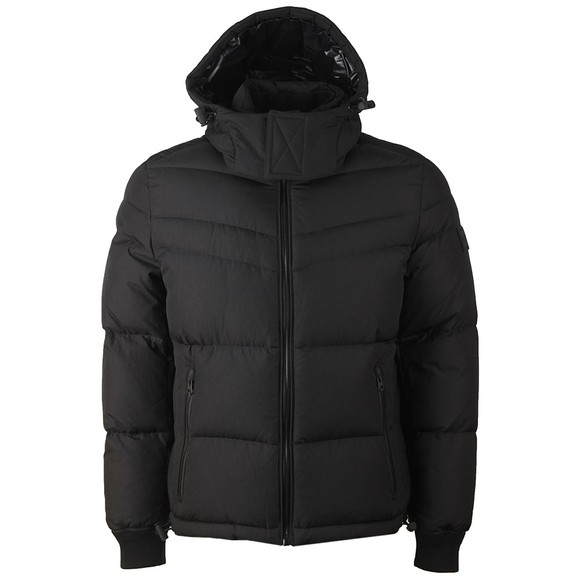 BOSS Mens Black Casual Olooh Puffer