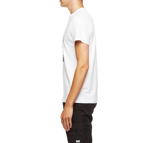 Weekend Offender Mens White Nuisance T-Shirt main image