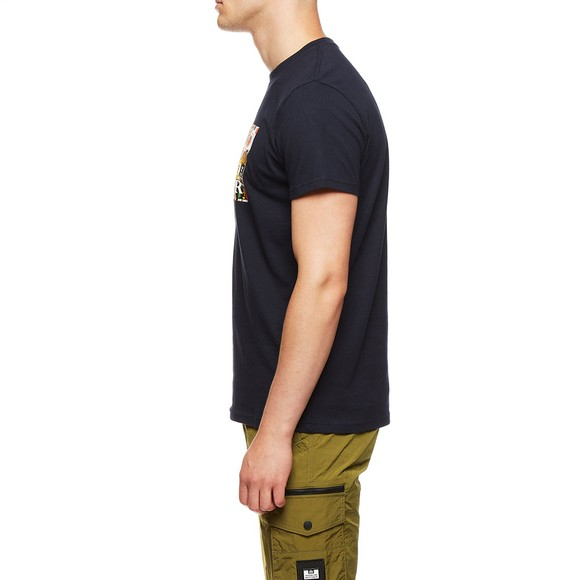 Weekend Offender Mens Blue Badges T-Shirt main image