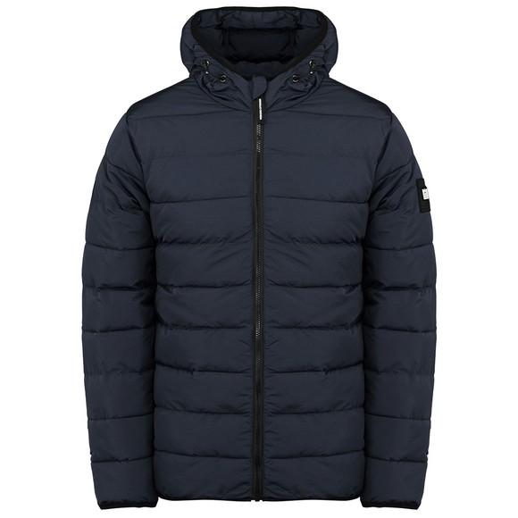 Weekend Offender Mens Blue Laguardai Lightweight Puffer Jacket
