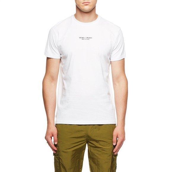 Weekend Offender Mens White WO T-Shirt main image