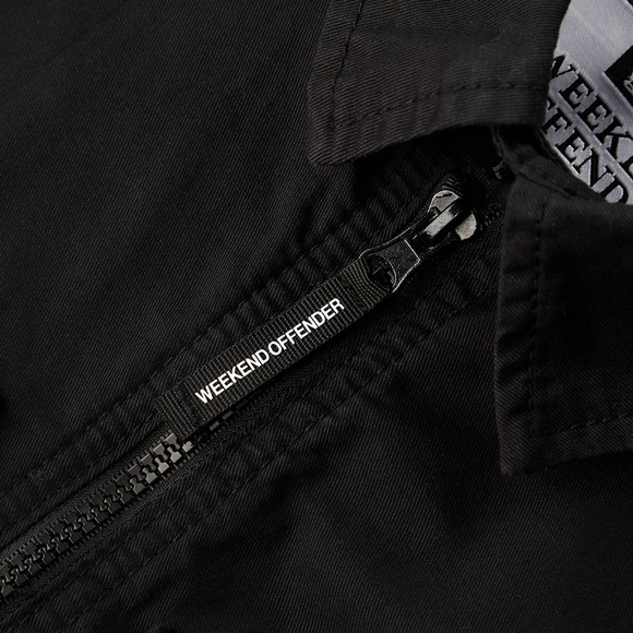 Weekend Offender Mens Black Pileggi Jacket main image