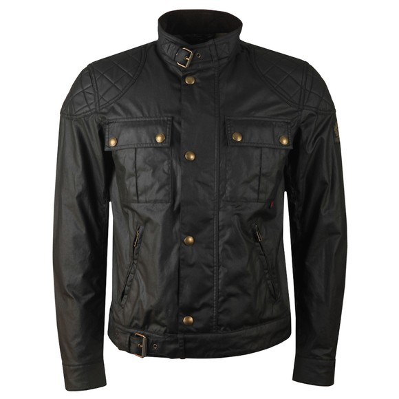 Belstaff Mens Black Brookstone Wax Blouson