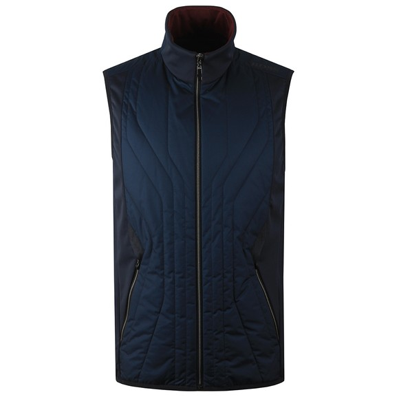BOSS Mens Blue Athleisure V Colere Gilet