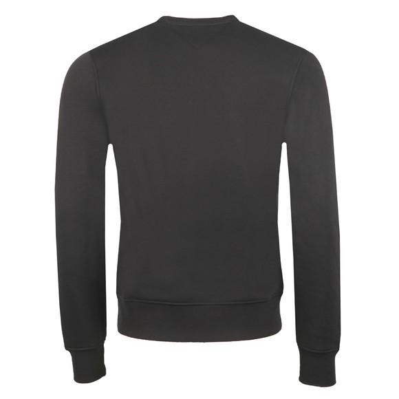 Tommy Hilfiger Mens Black Tommy Flag Sweatshirt main image