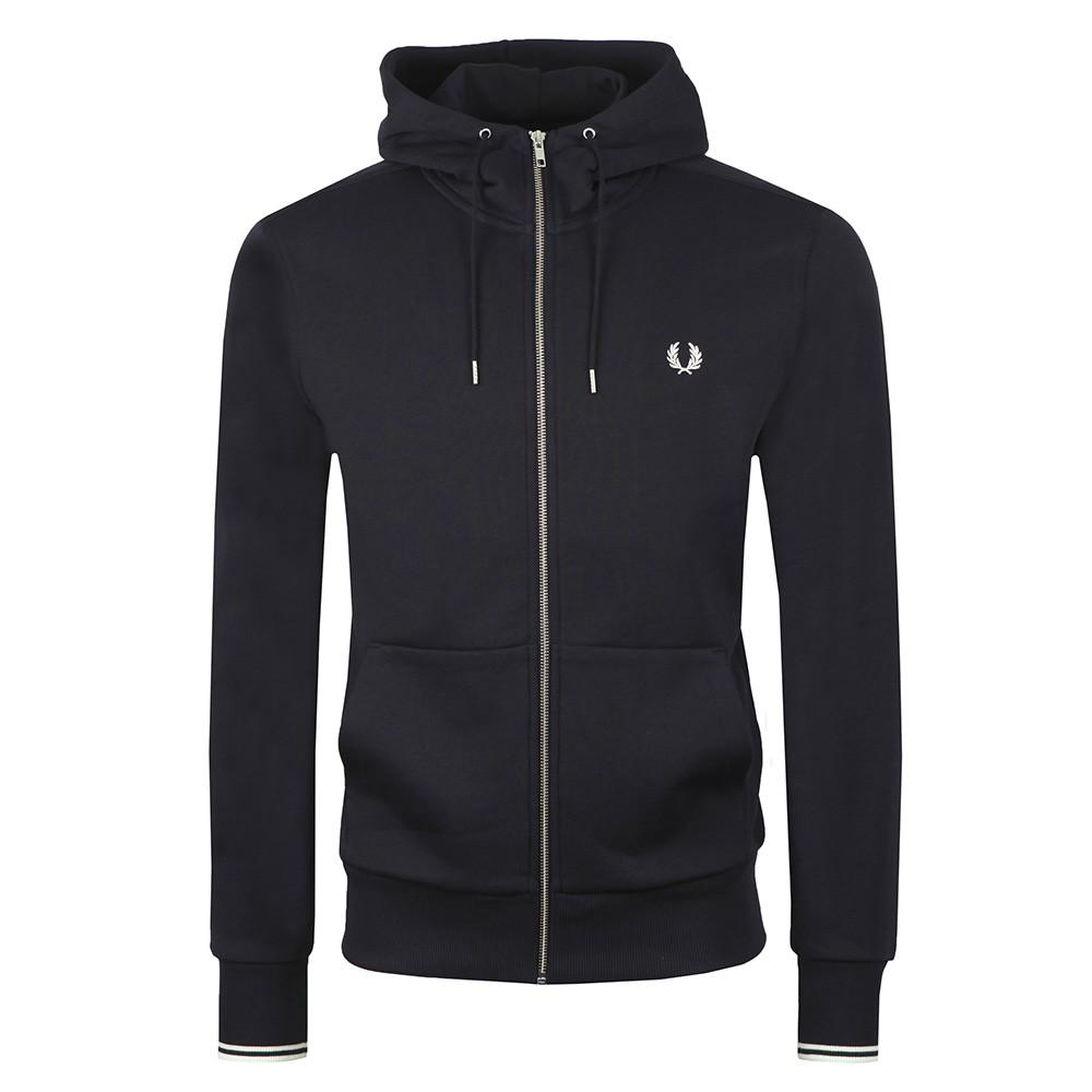Hooded Zip Through Sweatshirt main image