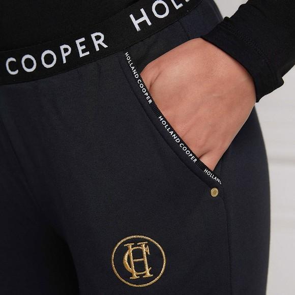 Holland Cooper Womens Black Lounge Jogger