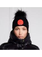 Faux Fur Cable Bobble Hat
