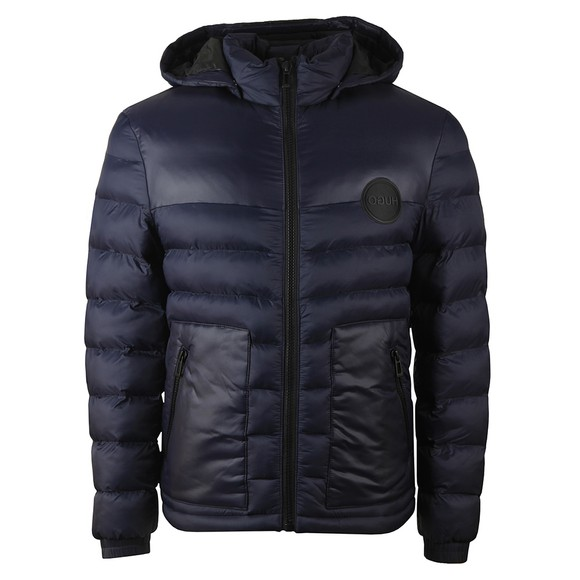 HUGO Mens Blue Balin2041 Puffer Jacket