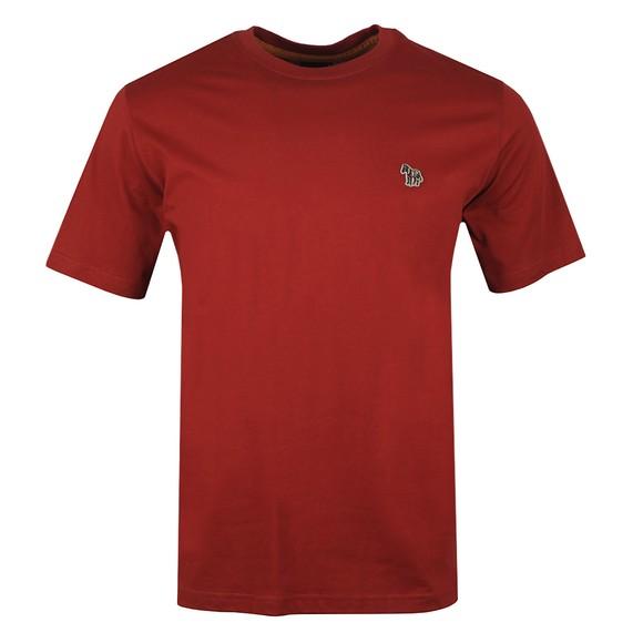 PS Paul Smith Mens Red Zebra T-Shirt main image
