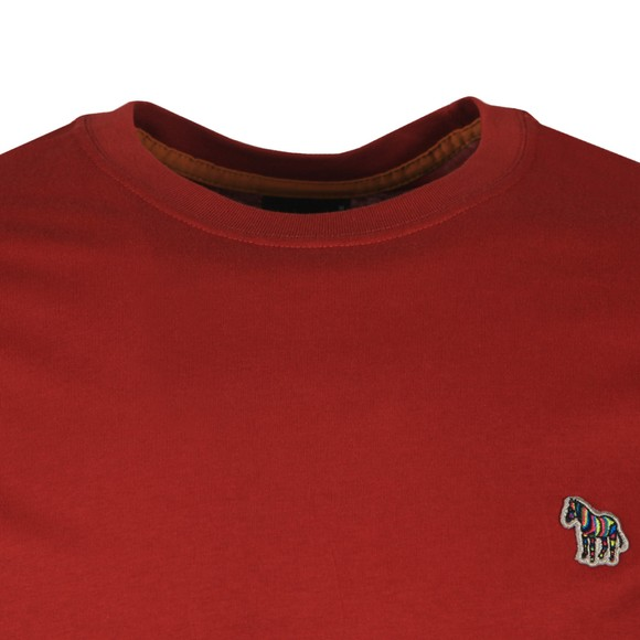 PS Paul Smith Mens Red Zebra T-Shirt