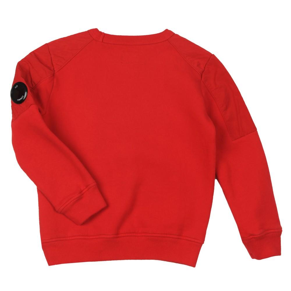 Nylon Shoulder Crew Sweatshirt main image