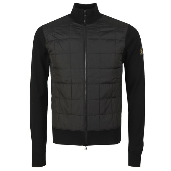Belstaff Mens Black New Kelby Zip Jumper
