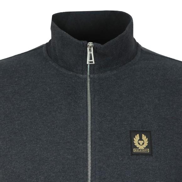 Belstaff Mens Grey Zip Through Sweatshirt