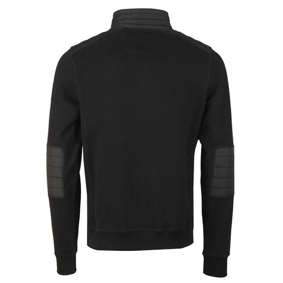 Belstaff Mens Black Jaxon Quarter Zip Sweatshirt main image