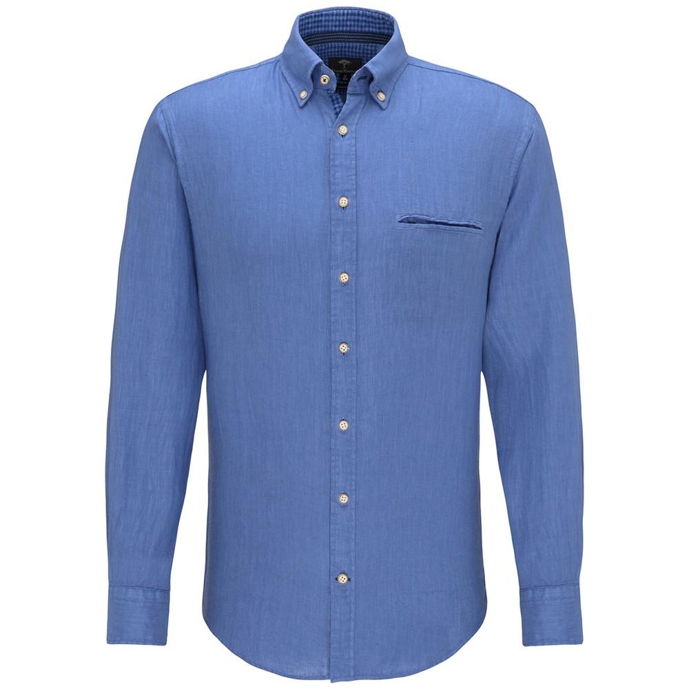 Garment Dyed Linen Shirt main image