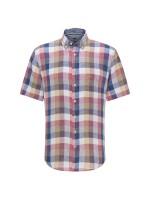 Check Linen SS Shirt